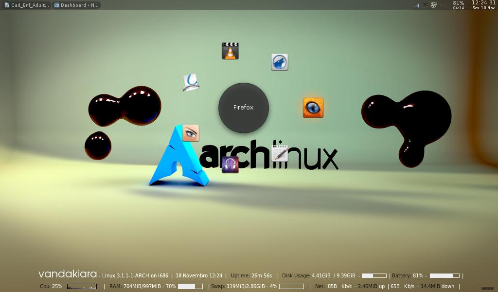 Gnome-Pie in Arch/ Openbox   Nani Land