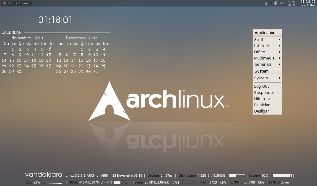 archlinux 2011